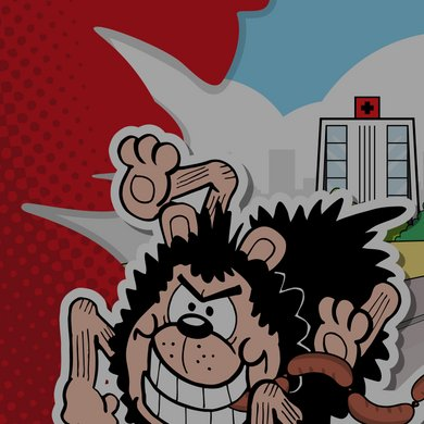 Gnasher's Deadly Dash